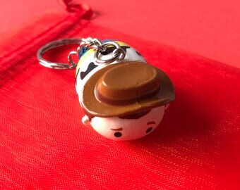 Woody Tsum Tsum keychain / keyring from Disney's Toy Story!