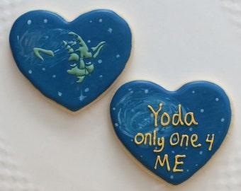 STARWARS Valentine cookies