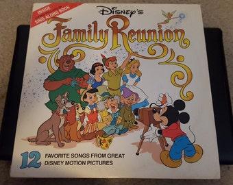 Disney Family Reunion vintage Album
