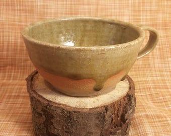 Handmade Stoneware Soup Mug