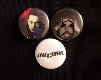 "The Cure 1"" Button"