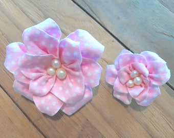 Flower clips for me and my doll