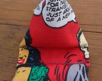 Cartoon Fabric - Phone/IPod/MP3 Player Pillow- Stand