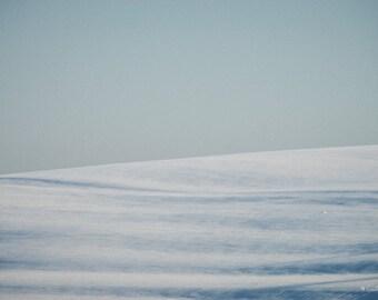 Winter lines / / Giclée fine art print / / 90x60cm / /.