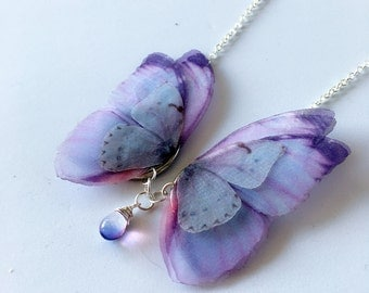 Pretty Butterfly butterfly necklace chain silver