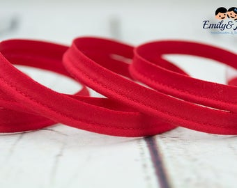 piping, band, red