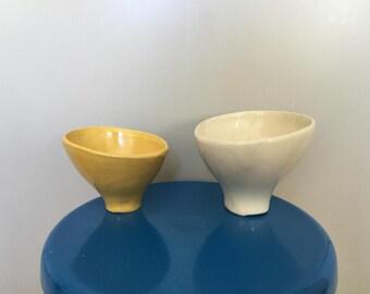 Kupittaan savi ceramic bowls set of II