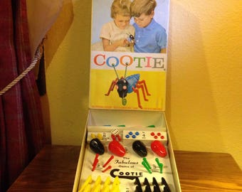 "Vintage ""Cootie Bug"" Game by Schaper"