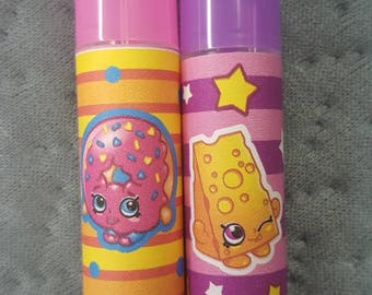 Shopkins Lip Balms All Natural