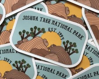 Joshua Tree National Park Vinyl Sticker
