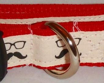 Dog Collar - Moustache Collection