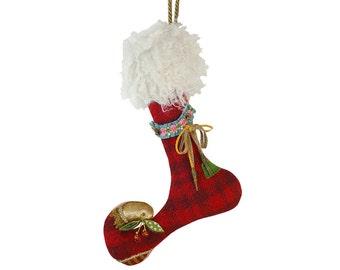 Petite Betty Lou Elfin Stocking