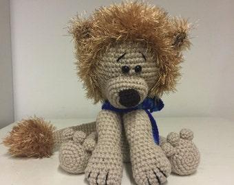 Adorable hand crochet Lion