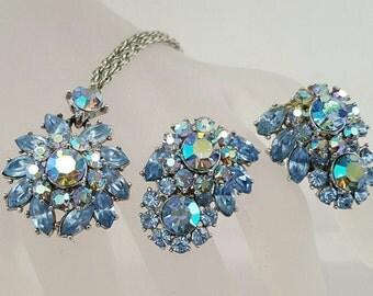 TRIFARI Pendant & Earrings Set