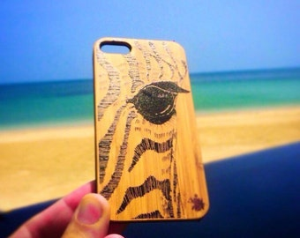 iphone 6s case, Zebra Eye by Crystal, iPhone 6s, sustainable cases, save the turtles case, wood iphone case