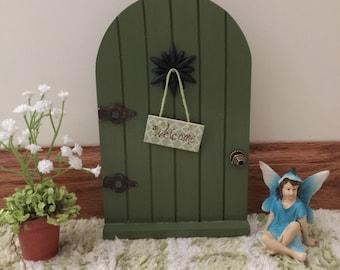 Miniature Fairy Door, Miniature Fairy, Miniature Potted Plant, Miniature Fairy Door Kit, Fairy Door Kit