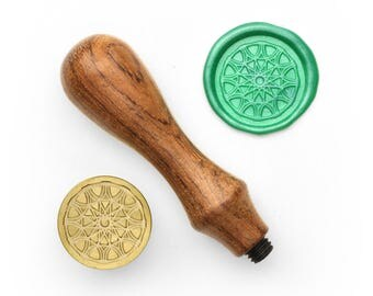 Mandalas Pattern - 14 - Design OD Wax Seal Stamp (DODWS0326)