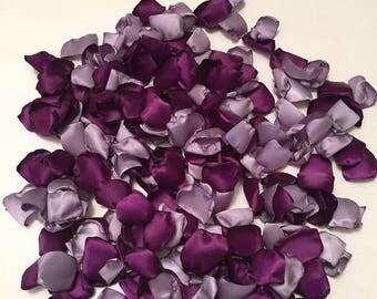 Purple Rose Petals/Plum Petals/Lavender Rose Petals/Scatter Petals/Aisle Petals/Purple Petals/Barn Wedding/Purple Wedding/Thistle Petals