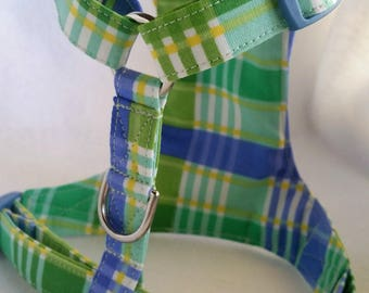 Dog Harness /Key Lime /Non choke harness