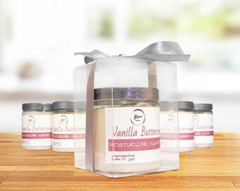 Whipped Vanilla Sugar Scrub - VANILLA BUTTERCREAM - Bridal Shower Gift - Hostess Spa Gift - Bridesmaid Spa Gift