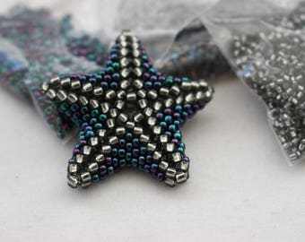 Beaded Star Pendant