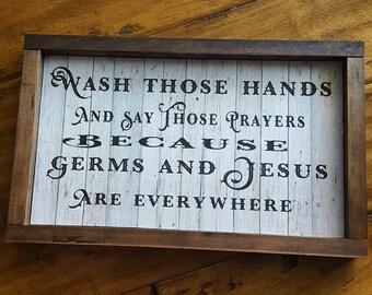 Germs & Jesus