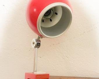 Red 60s Hustadt clamp spot