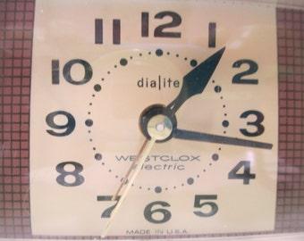 WESTCLOX DIALITE ELECTRIC Clock