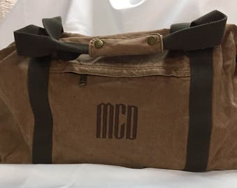 Personalized Men's Duffle Bag,Monogrammed Duffle Bag,Custom Duffle Bag, Personalized Duffle Bag