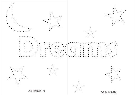 String art pattern string art template gift for kids string - String art vorlagen kostenlos ...