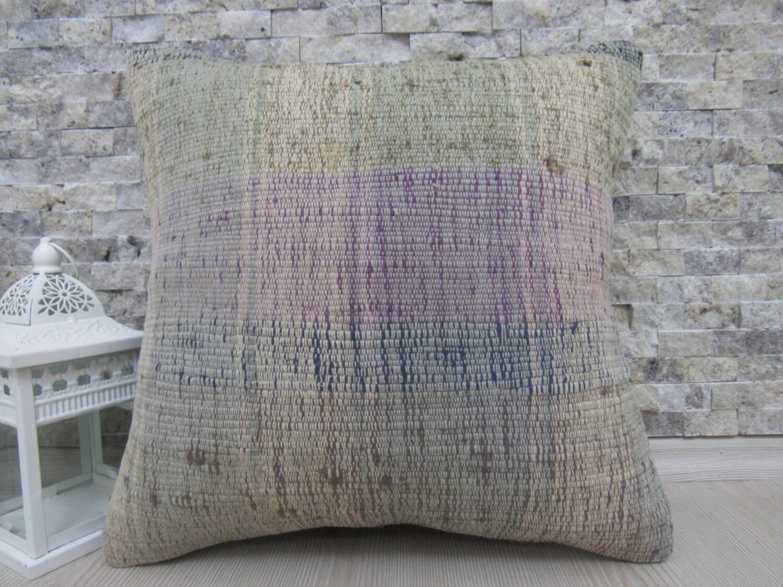 Shop home decor chevron stripes pillow from shop home decor - 16 X 16 Kilim Pillow Handmade Kilim Rug Pillows Turkish Cushion Decorative Pillow Home