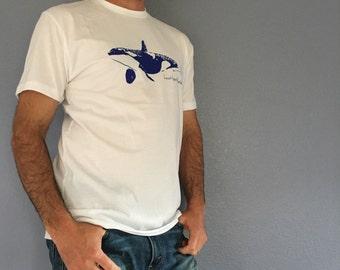 Orca Whale Mens Shirt