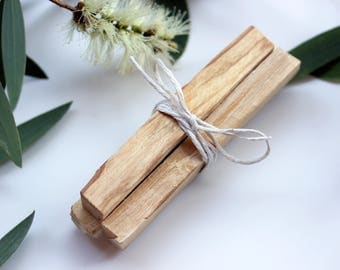 Palo Santo Wood Bundle - 3 x Palo Santo Holy Wood Incense Sticks - Palo Santo Smudge Sticks - Meditation, Energy Clearing, Natural Incense