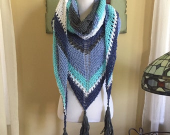 Calm Before The Storm Shawl