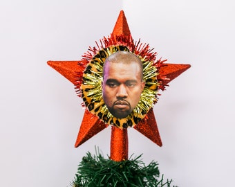 Kanye West christmas Tree Topper