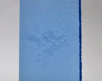 Vintage Curtis Swann Embossed Pegasus Blank Note Cards
