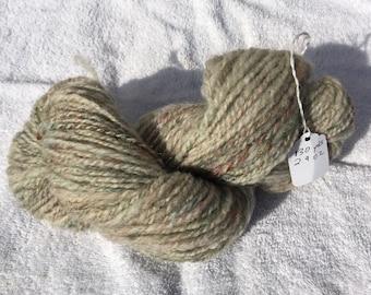 Sparkling hand spun Shetland yarn 130 yards