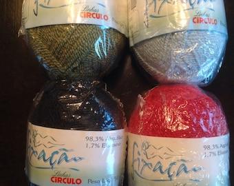 Círculo fixacao yarn