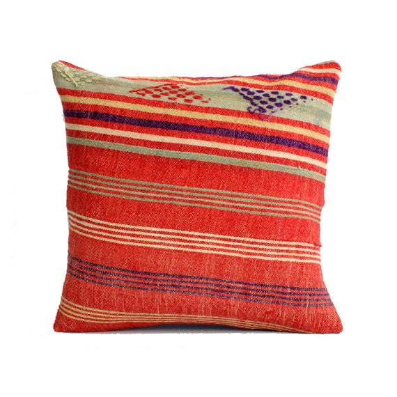 Southwestern Pillows And Rugs : 20x20 Southwest Pillow Southwestern Home Decor Kilim Pillow