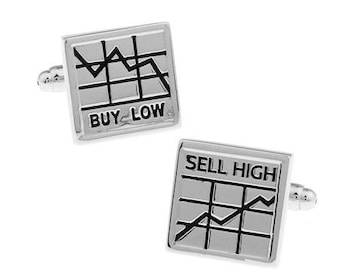 Stock Market Cufflinks-k44
