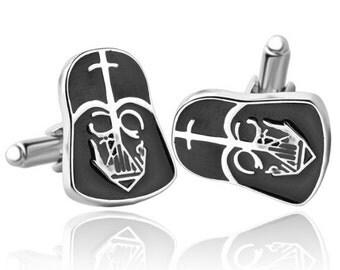 Star Wars Cufflinks -k99 Free Gift Box**