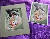 Koi Mermaid 5x7 print