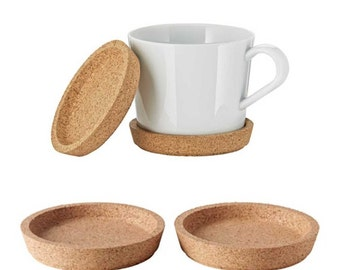 Round cork coasters coffee coasters