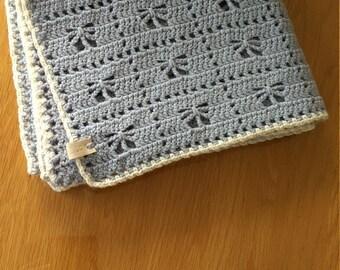 Beautyfull crochet vintage baby blanket