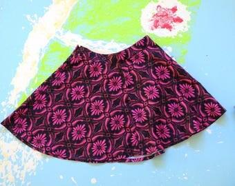 Skater Floral Skirt
