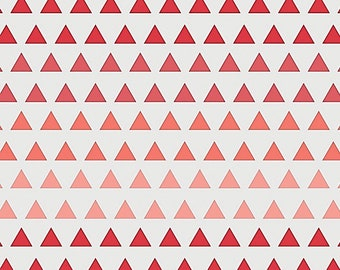 Fitted Cot Sheet, Crib Sheet - Ombre Triangles, Cot Sheets, Baby Bedding