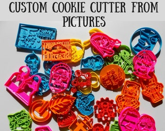 Custom Cookie. Personalized Cookie Cutter.Brand New.Perfect Gift.Party Favor