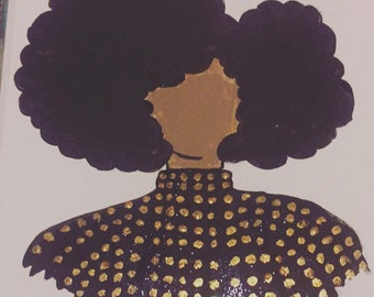 Afro Fashion Illusration