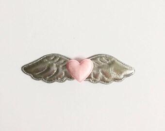 Hair clip - Wings hair clip - Girls hair clip