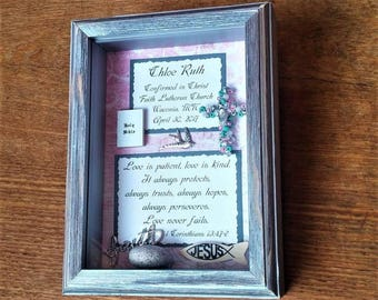 Customized Confirmation Gift, Personalized Confirmation Gift, Confirmation Gift for Girl, Confirmation gift from Sponsor or Godparent